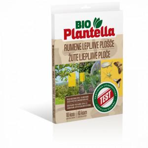 Lepljive žute ploče za insekte 24x17cm Bio Plantella 10/1