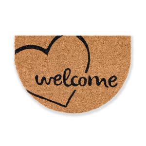 Otirač Coco Design Welcome Heart 40x60cm - polukružni