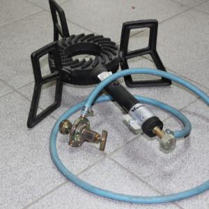 Plinski gorionik komplet - gusani sa crevom i ventilom