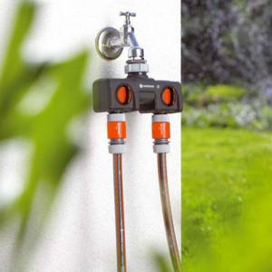 Razvodni ventil dvokanalni 1-3/4 na 2x1/2 Gardena GA 08193-20