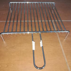 Roštilj žica sa nogicama 40x35 cm