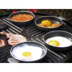 Set kamperski od 4 posude za jaja i povrće Cadac