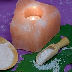 Svećnjak od himalajske soli do 1kg