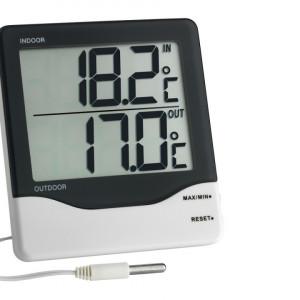 Digitalni termometar - vlagomer sa velikim displejom TFA