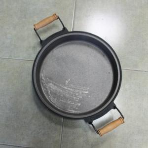 Gusana tepsija sača 33 cm sa ručkama