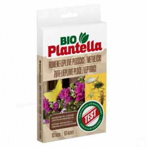 Lepljive žute ploče LEPTIR za saksije i žardinjere Bio Plantella 10/1