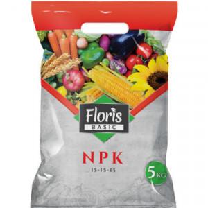 NPK đubrivo 5/1 Floris 15-15-15