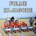 Folija za jagode crna 1mx500m, 30mic