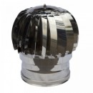 Rotirajuća dimovodna kapa fi12 INOX