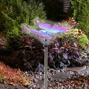 Solarna baštenska lampa - leptir MX618P