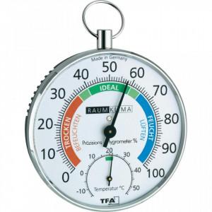 Termometar higrometar sa polukružnom skalom sobni TFA 45.2027