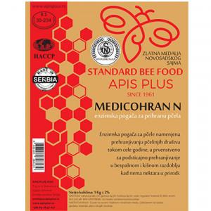 Enzimska pogača za prihranu pčela 1kg Medicohran N 10/1