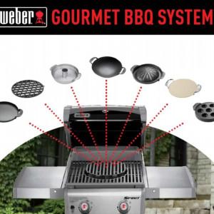 Gourmet BBQ sistem - Tava za roštilj Weber