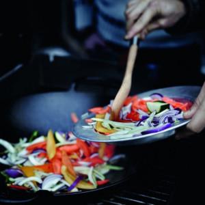 Gourmet BBQ sistem - Vok Weber