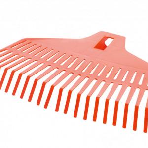 Grablje za lišće plastične narandžaste bez drške Dolomite