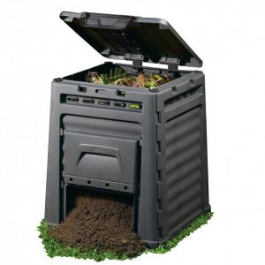 Komposter Eco 320L (bez baze) - Crn