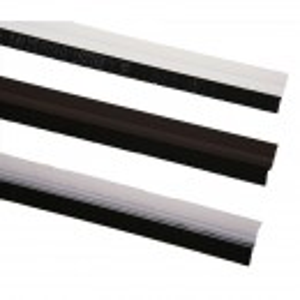 Dihtung PVC lajsna za vrata sa četkom 2/1