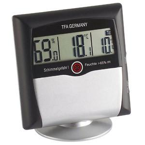 Digitalni termometar - vlagomer sa postoljem TFA