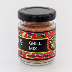 Grill mix sušenih i dimljenih paprika 30g FATALNI ZAČINI
