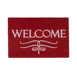 Otirač Coco Design Welcome crveni 40x60cm