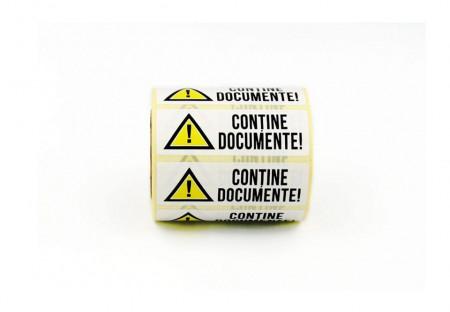 """Rola cu eticheta """"DOCUMENTE"""" 75mm x 25mm, autoadezive, 500 buc"""
