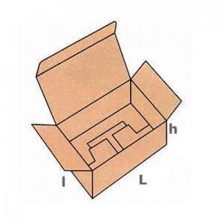 Cutie carton NATUR 105 x 105 x 105 mm - set 25 buc