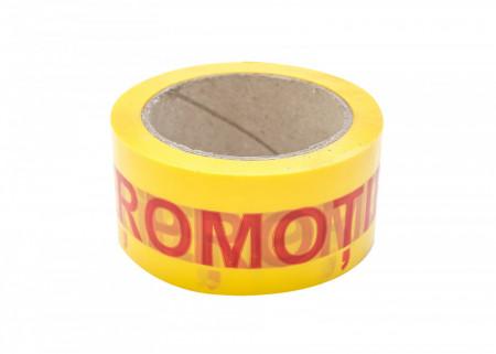 1 buc Banda adeziva PROMOTIE tip SILENT - 50 mm x 66 m - 1 buc