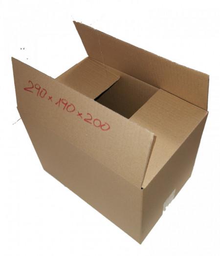 25 buc Cutie carton NATUR 290 x 190 x 200 mm - set 25 buc