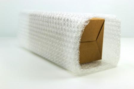 Punga folie cu bule, 500 x 500 mm - set 500 buc pungi - 3 strat 90 gr/mp superprotectie