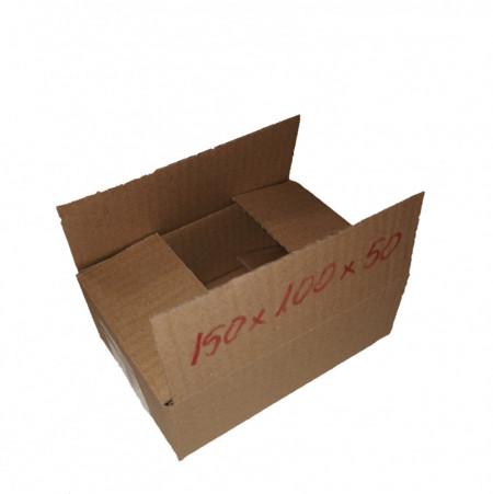 200 buc Cutie carton NATUR 150 x 100 x 50 mm - set 200 buc