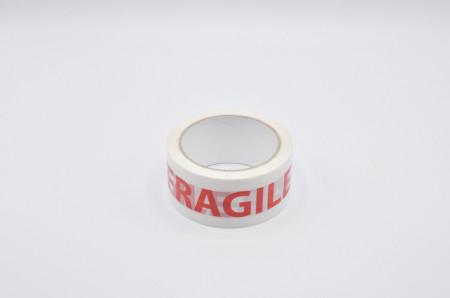 Banda adeziva FRAGILE tip SILENT - 48mm x 60m - 1 buc