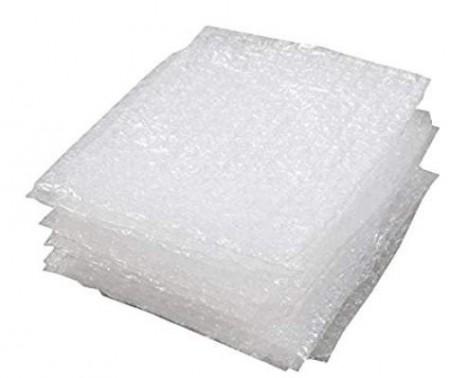 Placa, sheet, servetel din folie cu bule, 400 x 400 mm, set 240 buc, dens 60 gr/mp