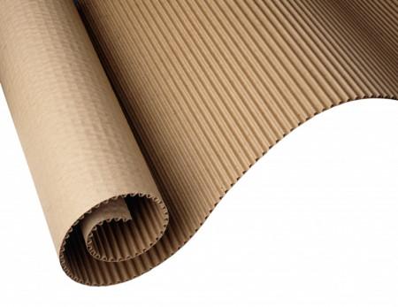 20 mp Carton ondulat CO2 - PREMIUM 300 gr./mp - 1,00 m latime x 20,0 lungime = 20 mp
