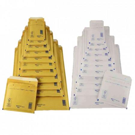 200 buc Pungi plic ANTISOC B12 - 140 x 230 + 50 mm - set 200 buc Alb