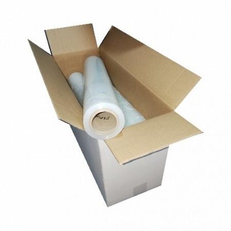 Folie Stretch manual TRansparent - 3,0 kg / rola 500 mm , 23 my - 1 buc