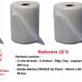 Pachet FRAGILE contine 300 mp bule si 36 Fragile