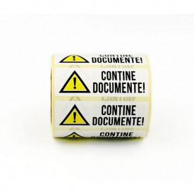 """500 buc Rola cu eticheta """"DOCUMENTE"""" 75mm x 25mm, autoadezive, 500 buc"""