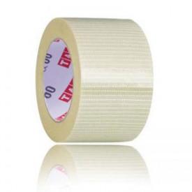 Banda adeziva cu insertie fibra monofilament Heavy Duty 50 mm x 50 m - 1 buc