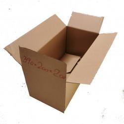 Cutie carton NATUR 390 x 200 x 200 mm - set 100 buc