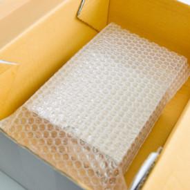 Punga folie cu bule , 150 x 150 mm - set 100 buc pungi - 3 strat 90 gr/mp superprotectie
