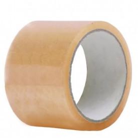 1 buc Banda adeziva TRansparenta DUBLULAT 75 mm x 60m - 1 buc