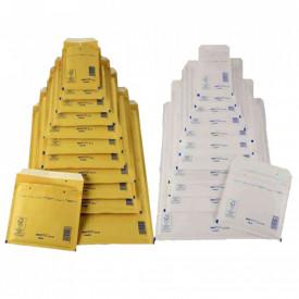 100buc Pungi plic ANTISOC B12 - 140 x 230 + 50 mm - set 100buc Kraft
