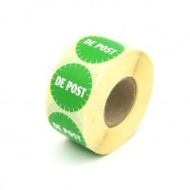 "1000 buc Rola cu eticheta ""DE POST"" diametru 40 mm, autoadezive, 1000 buc"