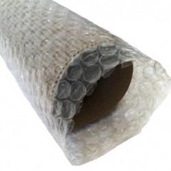 set 100 buc tub din folie cu bule , 3 straturi 90 gr/mp , 500 mm lungime , diametru interior 100 mm