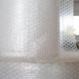 10 mp Folie cu bule 90 gr/mp - 3 straturi - 1,0 m latime x 10 m lungime = 10 mp