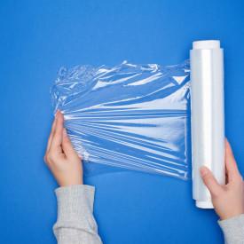 Folie Stretch manual TRansparent- 1,7 kg / rola 500 mm , 23 my - 1 buc