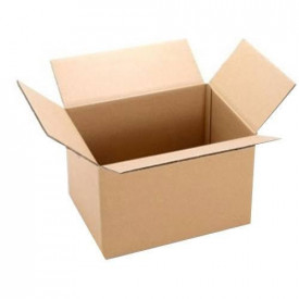 Cutie carton NATUR 400 x 130 x 130 mm - set 100 buc