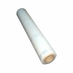 Folie Stretch manual TRansparent - 3,0 kg / rola 500 mm , 23 my - set 6 buc