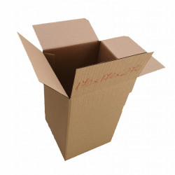 100 buc Cutie carton NATUR 170 x 170 x 270 mm - set 100 buc