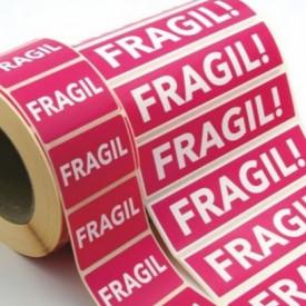 Rola eticheta Fragil